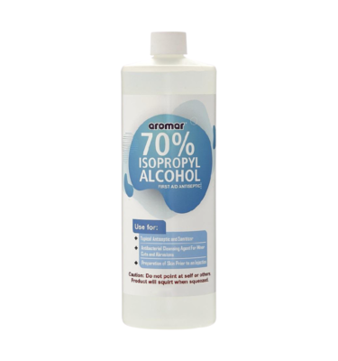 Aromar Isopropyl (Rubbing) Alcohol - 16oz