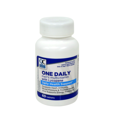 Daily Multi-Vitamin Men's W/Minerals Tablets 60 Ct