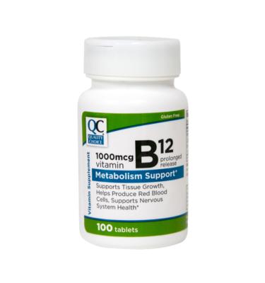 Vitamin B-12 1000 Mcg PR Tablet 100 Ct