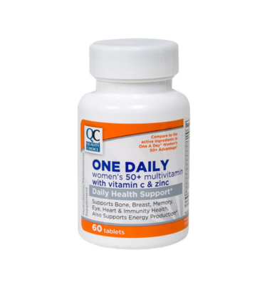 One Daily Women's 50+ Tablets 60 Ct.