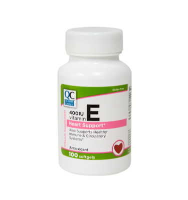 Vitamin E 400 IU Softgels 100 Ct.