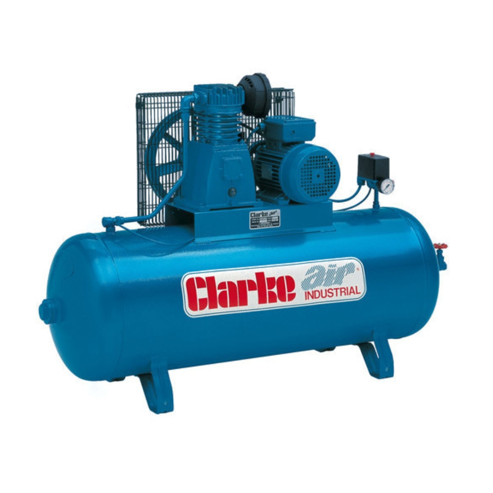Air Compressor 3HP Clarke Industrial 100L (230V)
