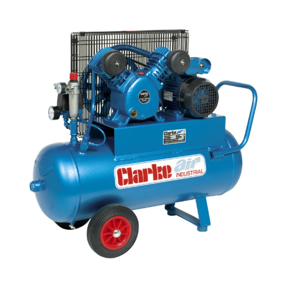 Air Compressor 2HP Clarke Industrial 50L (230V)