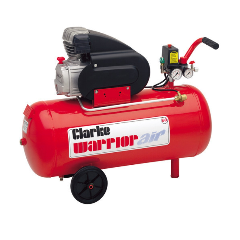 Air Compressor 2.5HP Clarke Warrior 55 50L (230V)