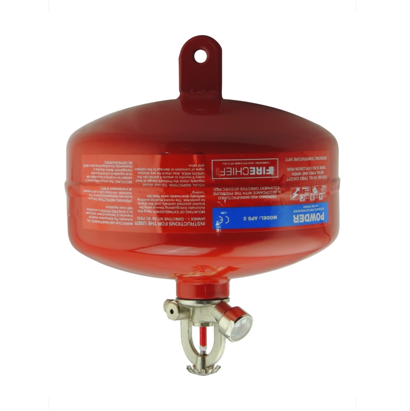 APS2  AUTOMATIC  FIRE EXTINGUISHER 2KG xra