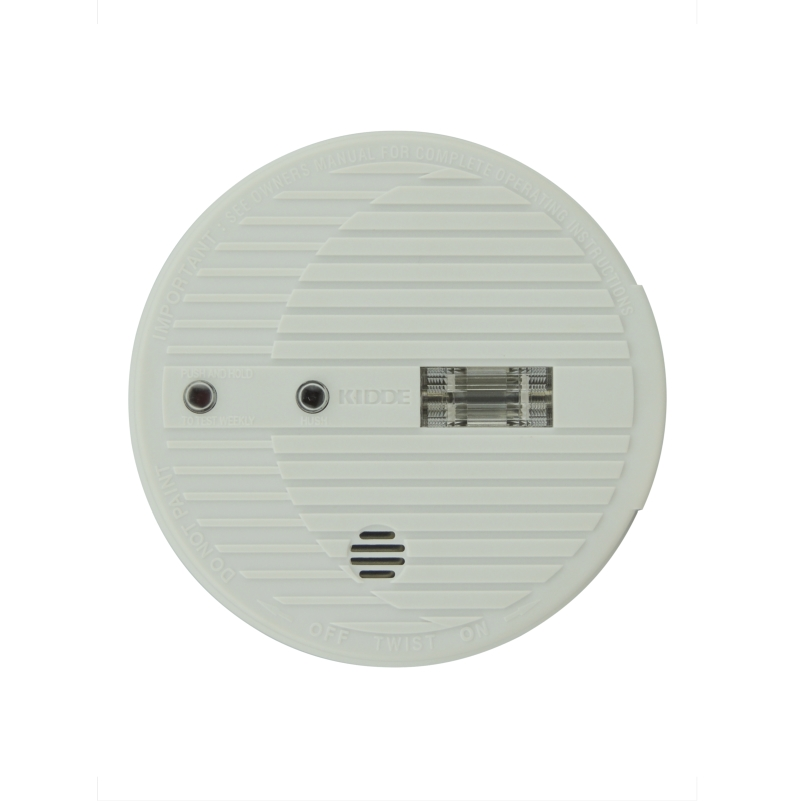 Smoke Alarm Premium 9v W/Light Strobe