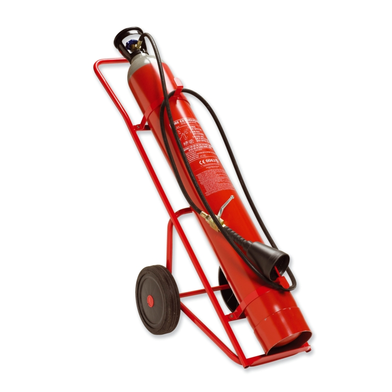 Fire Extinguisher CO2 - 30KG Wheeled Unit