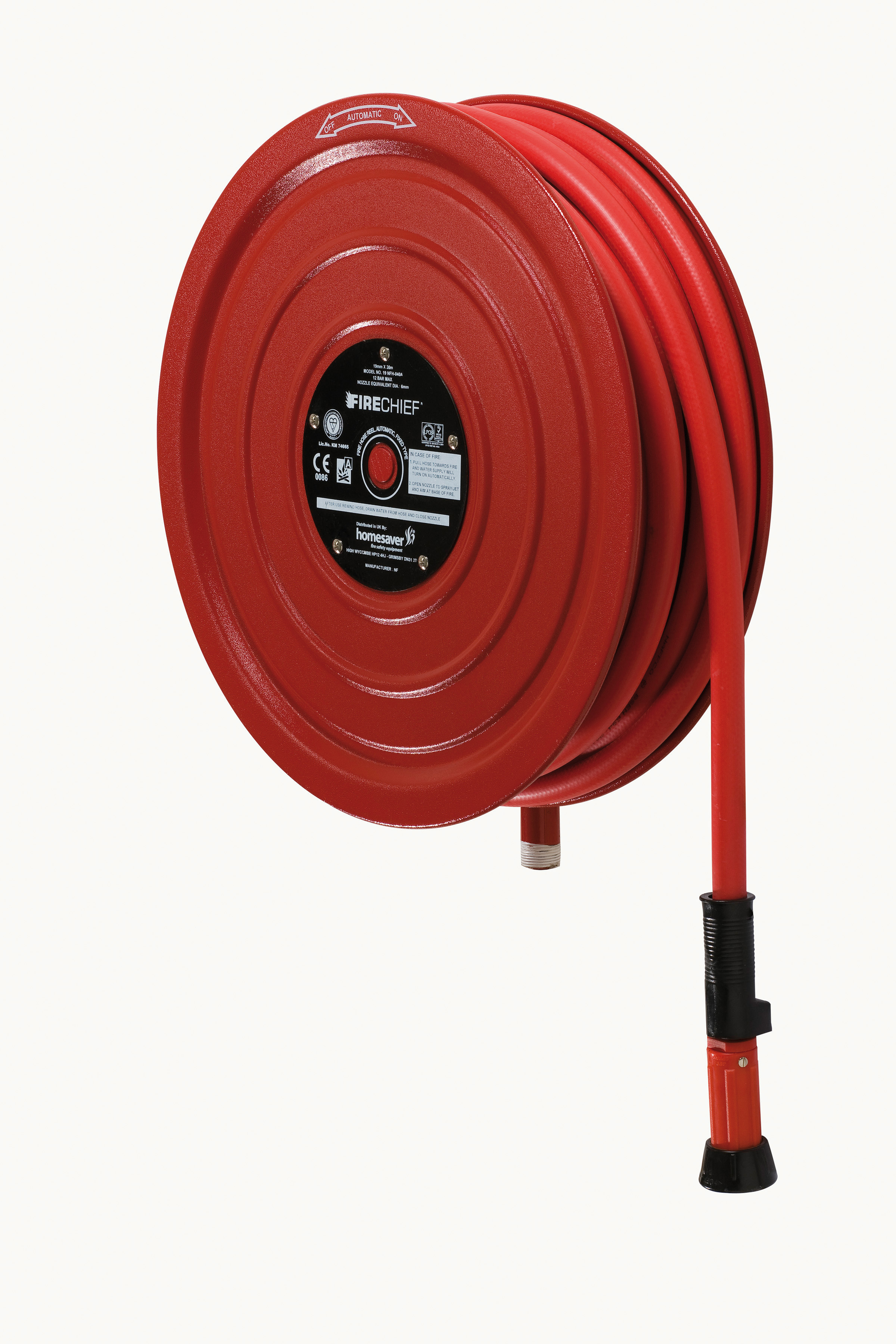 "Fire Hose Reel ""Fixed"" 30m (100ft)"