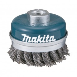 D-24153 KNOTTED WIRE CUP BRUSH 60mm M14 Makita