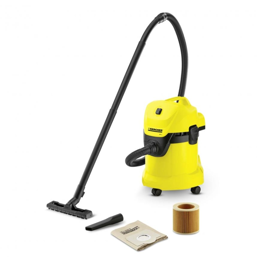 Karcher MV3 Wet-Dry Vacuum - 17L (3.75Gal) 1400W