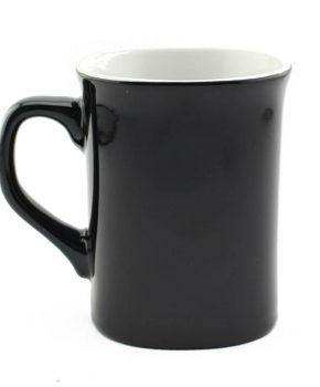 10oz Ceramic Mug (Black)