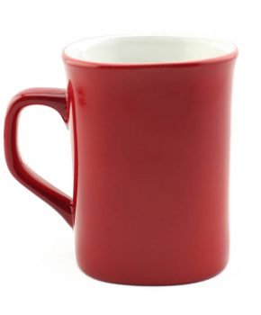 10oz Ceramic Mug (Red)