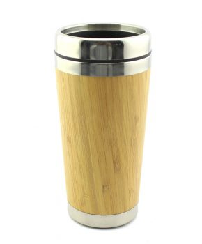 12.8oz Bamboo Travel Mug