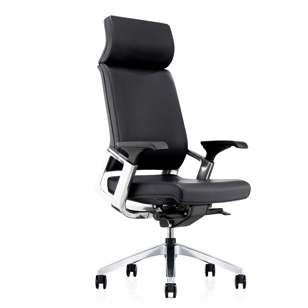 24464_Titan High Back Leather Executive Chair