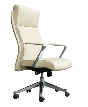 Mediterranean High Back - Executive Top Grain Leather Chair