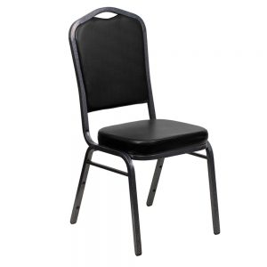 24527_Crown Back Stacking Chair, Vinyl