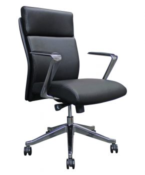 Mediterranean Low Back - Executive Conference Leather Chair