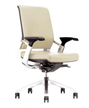 Titan Mid Back Leather Executive Chair