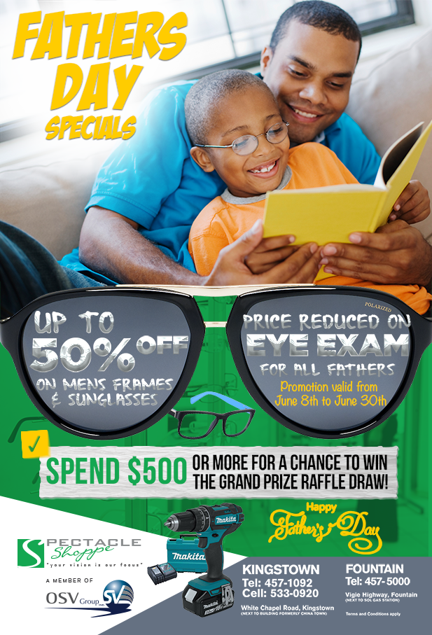 Fathers Day Promo- Website Flier