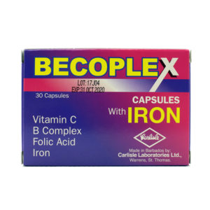 BECOPLEX with Iron Capsules