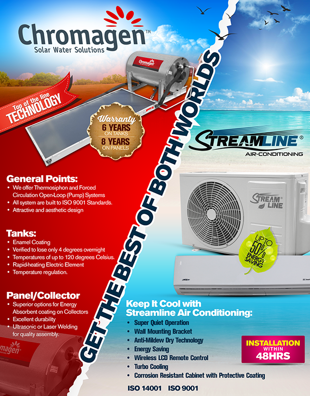 Air Conditioning, Solar Water Heating