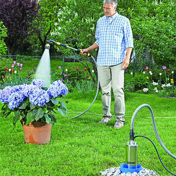 BP4 Deep Well Pump - Garden
